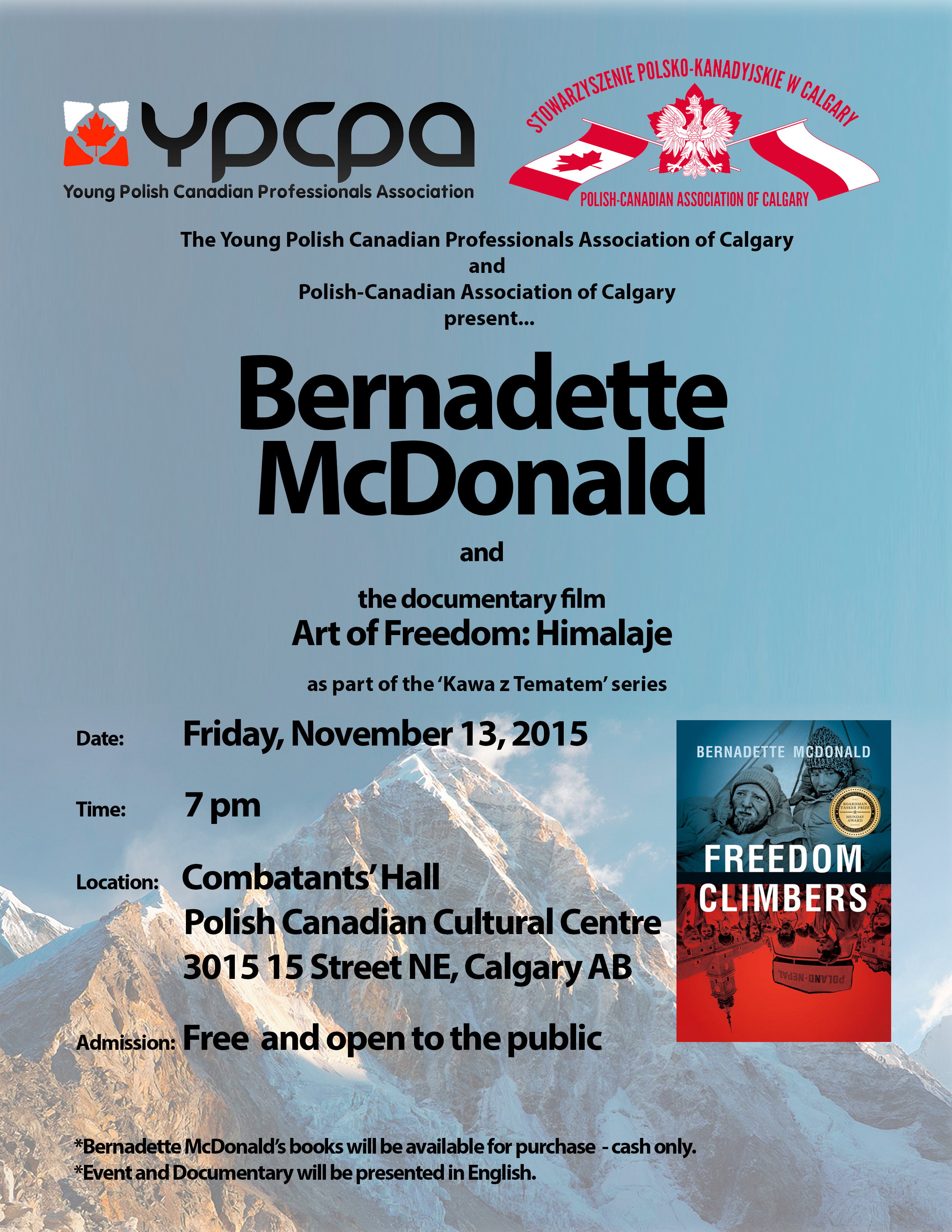 Bernadette poster Nov 13 final